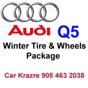 Audi Q5 winter tire Rim package