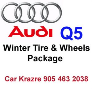 Audi Q5 winter tire Rim package