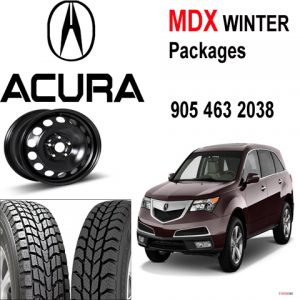 acura_mdx steel rim and winter tires